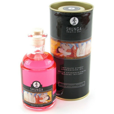 Shunga Intimate Kisses Aphrodisiac Oil