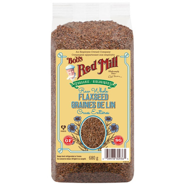 Bob\'s Red Mill Organic Whole Raw Flaxseed