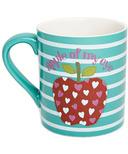 Hatley Little Blue House Ceramic Mug - Fun Apples