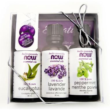 NOW Essential Oil 3 Pack Holiday Kit