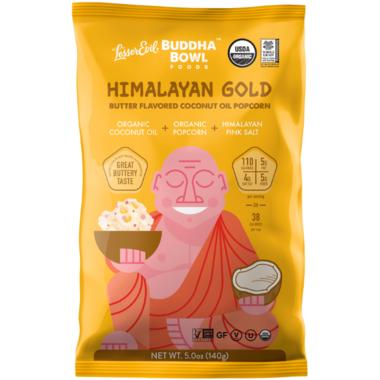 LesserEvil Buddha Bowl Himalayan Gold Popcorn