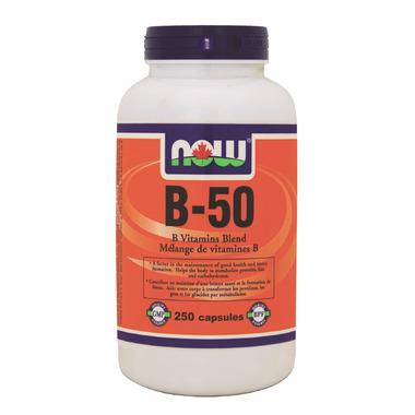 NOW Foods B-50 B Vitamins Blend