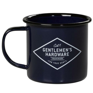 Gentleman\'s Hardware Enamel Mug Blue