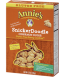 Annie's Homegrown Gluten Free SnickerDoodle Bunny Cookies