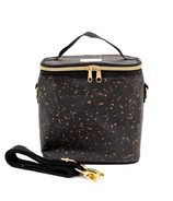 SoYoung Petite Poche Black Paper Gold Splatter