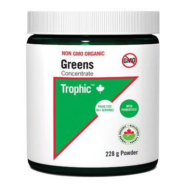 Trophic Organic Non-GMO Greens Concentrate Powder