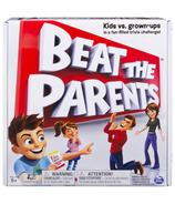 Spin Master Game Beat The Parents Family Board Game