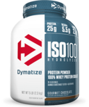 Dymatize Nutrition ISO100 Hydrolyzed Whey Protein Gourmet Chocolate 5 lbs