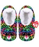 Ty Fashion Dotty The Leopard Slipper Socks