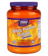 NOW Sports Whey Protein Isolate Powder Natural Vanilla