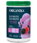 Organika Electrolytes + Enhanced Collagen Wild Berry