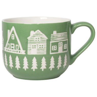 Now Designs Latte Mug Wild & Free by Well