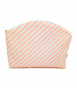 Logan and Lenora Waterproof Simple Clutch Blush Stripe