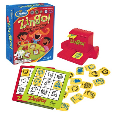 ThinkFun Zingo! Bingo with a Zing