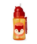 Skip Hop Zoo Straw Bottle Fox