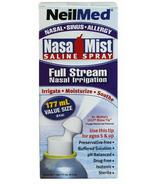 Brumisateur salin NasaMist à jet complet de NeilMed