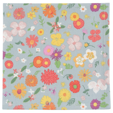 Now Design Flowers of the Month Printed Napkin Set