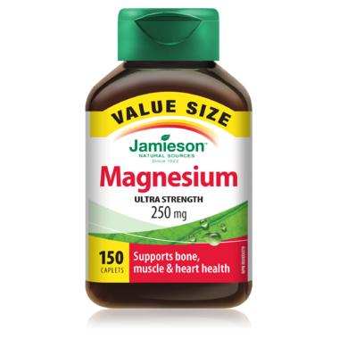 Jamieson Magnesium 250mg Value Pack