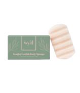 Wyld Skincare Konjac Loofah Body Sponge