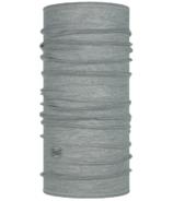 BUFF Merino Lightweight Solid Light Grey