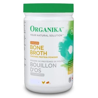 Organika Chicken Broth Protein Powder Ginger