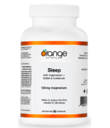 Orange Naturals Sleep With Magnesium + GABA & Melatonin