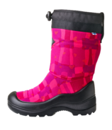 kuoma Snowlock Pink Square Winter Boot