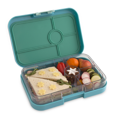 Yumbox Tapas 4 Compartment Antibes Blue