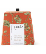 Lucia Green Orange & Oak Moss Soy Candle