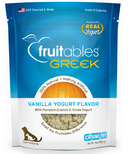 Fruitables Crunch Dog Treats Greek Vanilla Yogurt