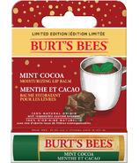 Burt's Bees baume à lèvres hydratant menthe cacao