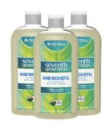 Seventh Generation Liquid Hand Wash Soap 3 Refills Free & Clear