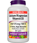 Webber Naturals Calcium Magnesium With Vitamin D3