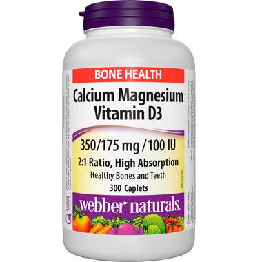 Webber Naturals Calcium Magnesium With Vitamin D3