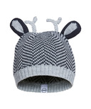 Kombi The Cutie Infant Hat Black Chevron