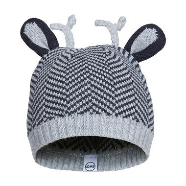 Kombi The Cutie Infant Hat Black Chevron