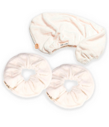Kitsch Eco-Friendly Scrunchie and Hair Towel Bundle
