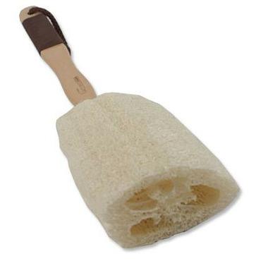 Upper Canada Soap - Naturals Wooden Back Loofah Sponge