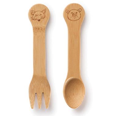 bambu Kids\' Fork & Spoon