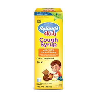 Hyland\'s 4 KIDS Syrup with Honey
