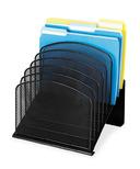 Safco Mesh Desk Slant Desktop Organizer