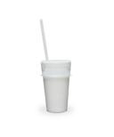 Luumi Unplastic Silicone Lid and Straw Clear