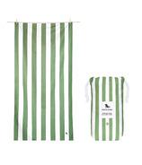 Dock & Bay XL Quick Dry Towel Cabana Cayman Khaki