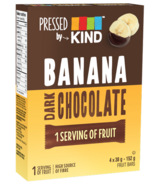 Pressed by KIND Banana Dark Chocolate Bars