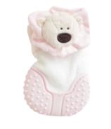 MITTEEZ Organic Developmental Teething Mitty & Baby Keepsake Pink