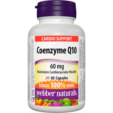 Webber Naturals Coenzyme Q10