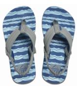 Reef Boys Little Ahi Blue Grey Ocean