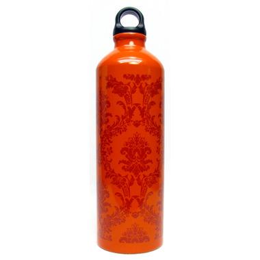 Gaiam Neo-baroque Burnt Orange Aluminum Water Bottle