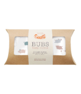 Nest Designs Bamboo Bubs Baby Wash Cloth Set Piggy