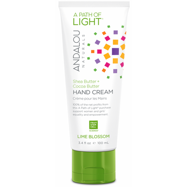 ANDALOU naturals A Path of Light Shea Butter + Cocoa Butter Hand Cream